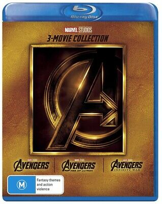 Avengers Trilogy Box Set Collection Avengers Assemble/Age of Ultron/Infinity War