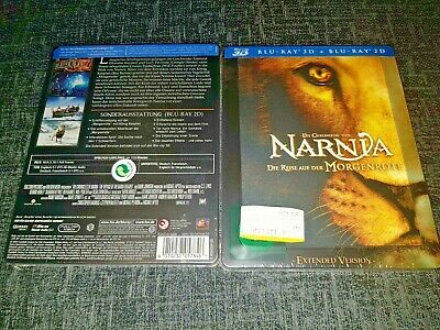 Chronicles of Narnia: Voyage of Dawn Treader 3D+2D Blu-Ray Lenticular Steelbook+