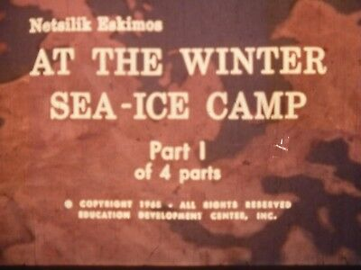 At The Winter Sea Ice Camp Part 1  1969 16mm short film