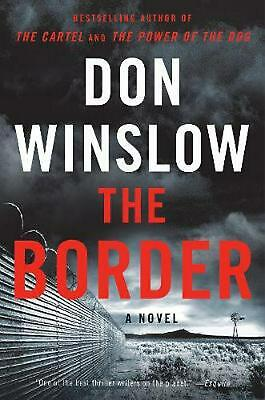 The Border by Don Winslow Paperback Book Free Shipping!