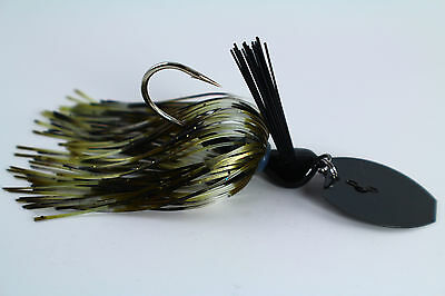 "3//8 ounce /""SPRING JUNEBUG/"" Vibrating Venom Chatter Bait Bass//Pike//Fish"