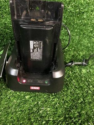 GME BCD014 Quick Charger With GME GIOA006 Battery