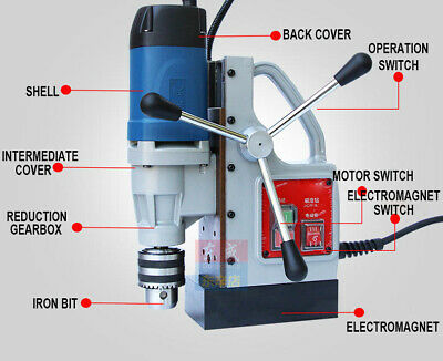 220V Magnetic Drill For Metal Electric Magnetic Drilling Machine