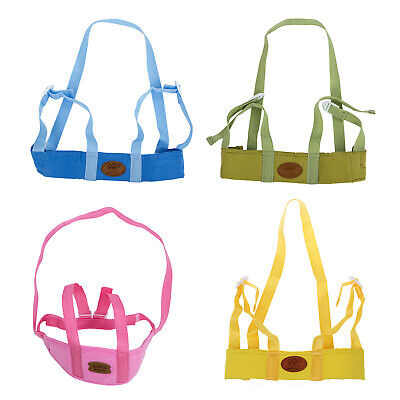 Baby Child Toddler Safety Easy Wash Harness & Step Walking Assistant Reins  Q3O3