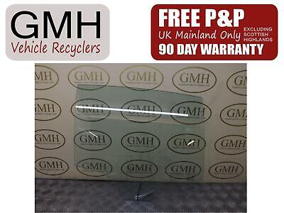 Bmw 1 Series MK2  Right Driver OS Rear Door Window Glass 43r-001734  2011-2015┐