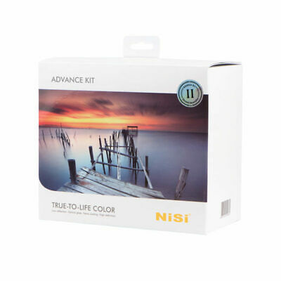 NiSi Filters 100mm Advanced Kit Generation II. Filters sorted in one neat box