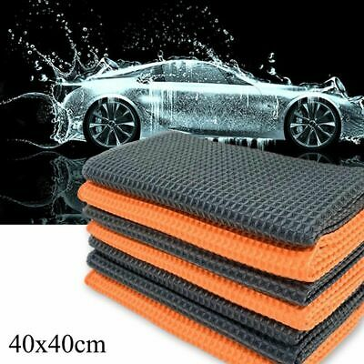 40x40cm Auto Car Care Microfibre Cleaning Soft Cloths Clean Wash Towel Cleaner