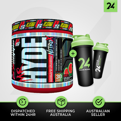 Mr Hyde Nitro X by Pro Supps   High Stim Pre-Workout Energy + Included Item!