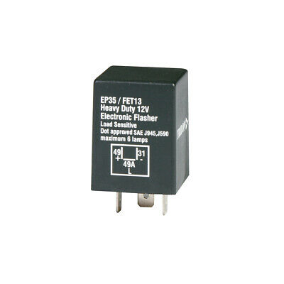 Tridon Flasher Relay Can 12V  3 Pin FET13