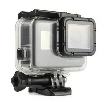 Transparent Acrylic 45M New Waterproof Housing Shell Case  For GoPro Hero 5 6 7