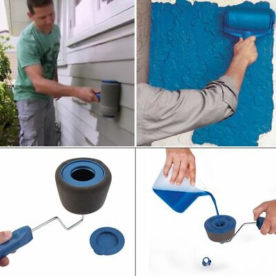 5PZ pintar facil Paint Runner Pro Roller Roller Brush Tool Flake Shelf Mural IT