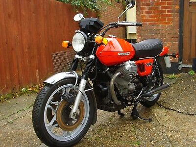 Moto Guzzi V1000i Convert 1980 31,700 miles - Original UK Bike