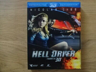 Hell Driver Blu ray 3D + 2D
