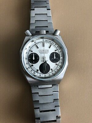 Citizen 8110 Automatic Chronograph Bullhead Panda