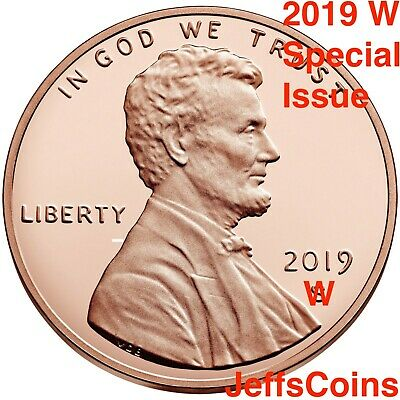 2019 W Lincoln Shield Cent Proof Deep Cameo 1¢ New Penny Union WEST POINT S #1/3