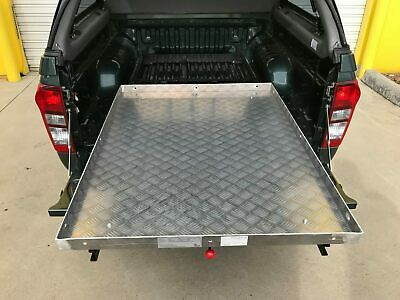 Sliding Tray Bed Drawer Slider to suit Toyota Hilux 2015+ Dual Cab 450kg Capa.
