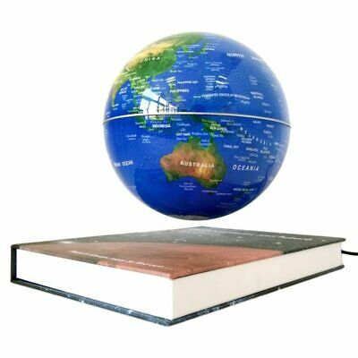 Magnetic Rotating Globe Anti-Gravity Floating Levitating Earth World Map Spins