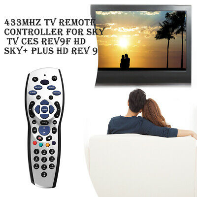 433MHz Smart TV Remote Controllers for Sky TV CES REV9F HD SKY+ PLUS HD REV 9