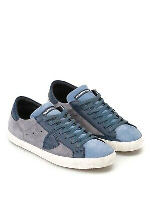 PHILIPPE MODEL   Sneakers Uomo CLLU- XY62 Mix Blue Navy Tg. 42 - 7d5d52183e3