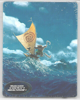 VAIANA - Disney / Blu-Ray 2D+3D Steelbook Neuf sous blister - VF