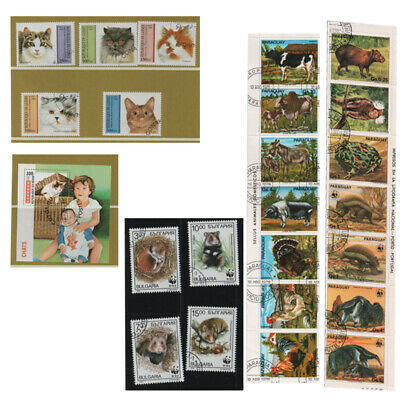 Thematic Stamps Animals  Choice of years and countries select from dropdown list
