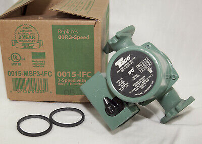 Taco 0015-MSF3-IFC 3-Speed Cast Iron Circulator with IFC - replaces Taco 007