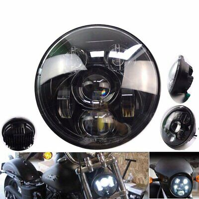 2019 Motorcycle 5.75 Inch LED Headlight Lamp Projector Daymaker For Harley DHL