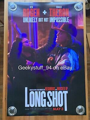 Long Shot DS Theatrical Movie Poster 27x40
