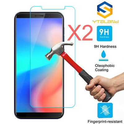 2Pcs 9H+ Premium Tempered Glass Film Screen Protector For Cubot J3 Pro