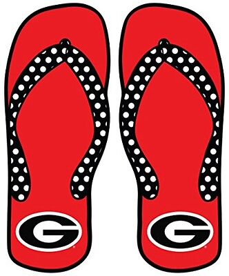 206c1695b29392 GEORGIA BULLDOGS UGA Flip Flops Sandals Jersey Adult WOMEN S MENS ...