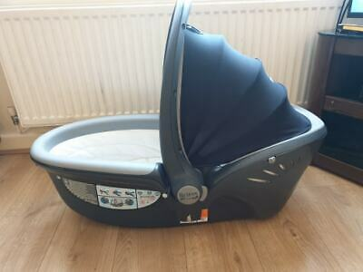 Britax Romer Baby Safe Sleeper Canopy  Baby-Safe Carrier Red Black + Rain Cover
