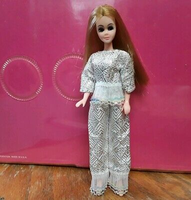 Topper Dawn Doll clothes....BEAUTY PAGEANT CAPE  remake