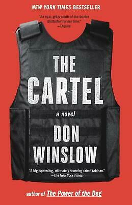 The Cartel by Don Winslow (English) Paperback Book Free Shipping!