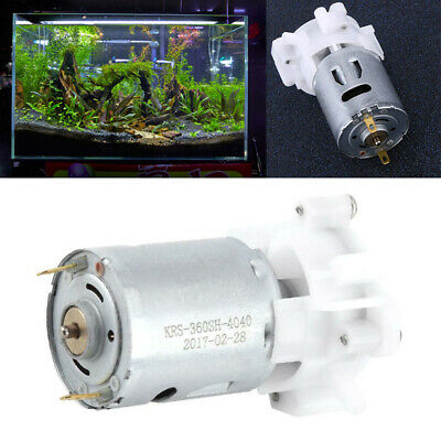 DC 3-12V Water/Oil Pump Mini Self-priming Gear Pump Tool with