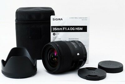 SIGMA Art 35mm F1.4 DG HSM AF Lens for Canon EOS EF Mount #181