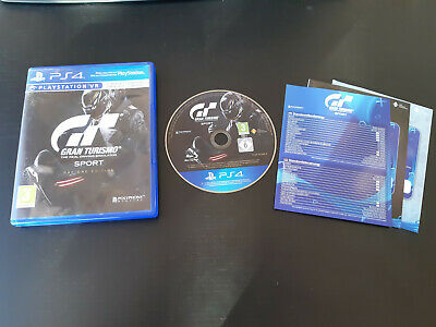 JEU Sony PLAYSTATION 4 GRAN TURISMO SPORT DAY ONE EDITION
