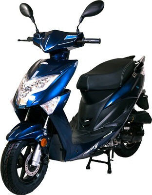 Razory Sunny R11 Deluxe Edition City 4-Takt Motorroller Euro-4 Royal Blue metall
