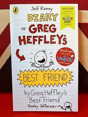 World Book Day 2019: Diary of Greg Heffley's Best Friend by Jeff Kinney *NEW*