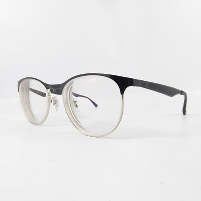 885d46e3a29 RAY-BAN RB 6365 2553 Silver on Grey New Authentic Eyeglasses 51mm ...