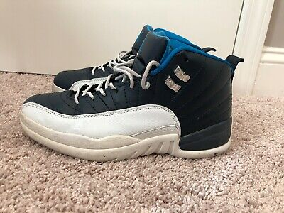 new products 3fee6 796f2 NIKE AIR JORDAN Men Retro 12 Obsidian White/Blue Size 10 Blue 130690 410  2011