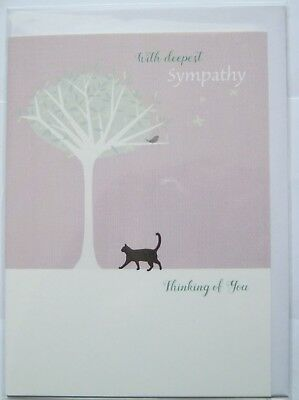 charity item Cats Protection birthday card Spring bouquet