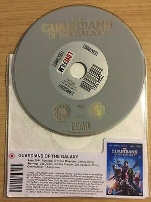Guardians of The Galaxy (DVD, 2014) DISC ONLY