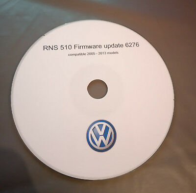 VW - RNS 510 Firmware update 6276