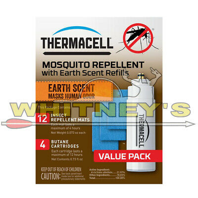 Thermacell E-4 Mosquito Repeller Refill with Earth Scent, 48 Hour Pack