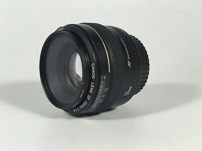 Canon EF 50mm f1.4 USM Standard Lens for Canon SLR Cameras - Fixed