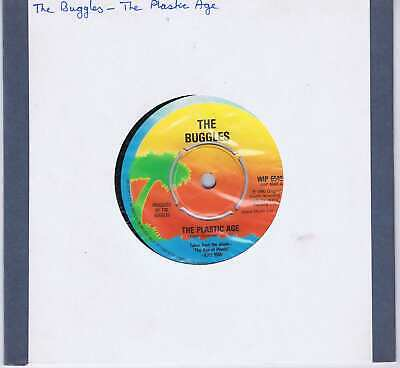 The Buggles – The Plastic Age - WIP 6540 - 7-inch Vinyl Record