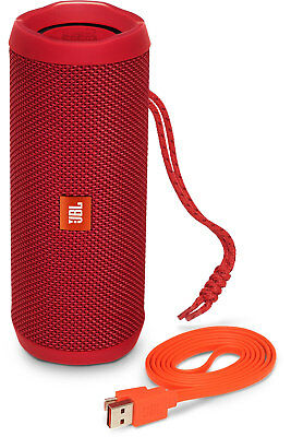 JBL Flip 4 Waterproof Portable Bluetooth Speaker - Red JBLFLIP4REDAM