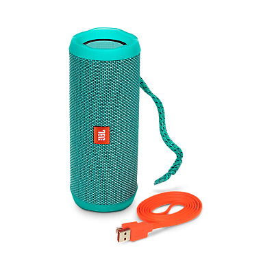 JBL Flip 4 Waterproof Portable Bluetooth Speaker - Teal JBLFLIP4TELAM