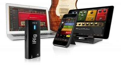 IK Multimedia iRig HD 2 Guitar Interface Mac, PC, iPhone, iPad