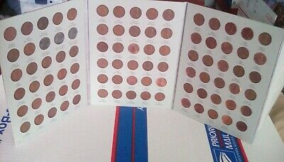 Complete Lincoln Wheat Penny Cent Collection Album 1941-1974 P D S